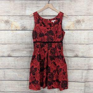 {Anthropologie} Weston Wear rose print dress